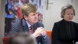 Nederlandse koning op bezoek bij Navo in Brussel