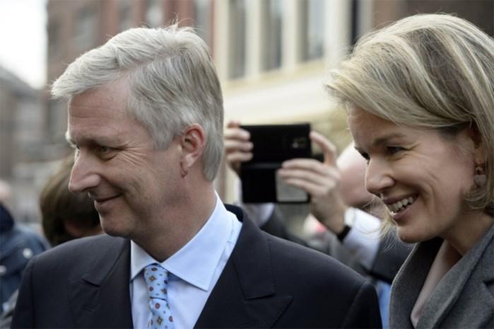 Filip en Mathilde vieren 95e verjaardag van groothertog Jan
