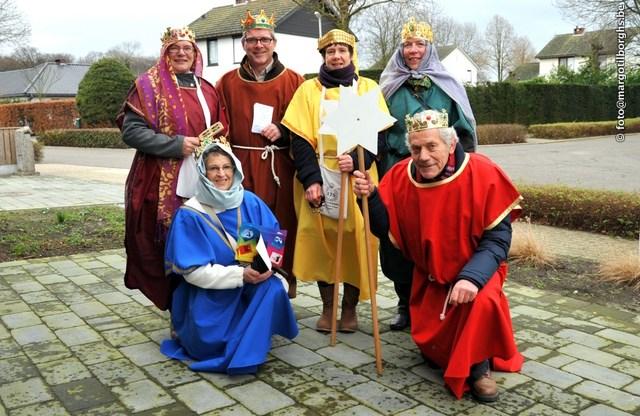Koningen wensen gelukkig nieuwjaar