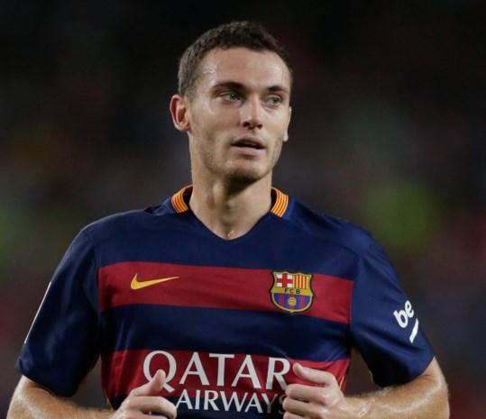 Thomas Vermaelen weer opgenomen in selectie Barcelona