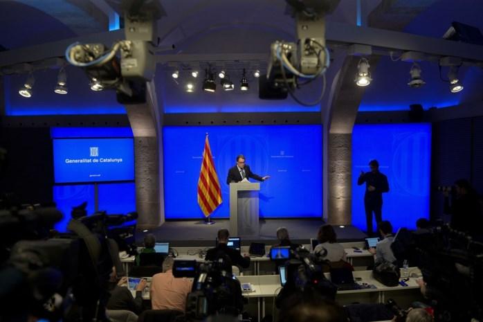 Catalonië op weg naar nieuwe verkiezingen