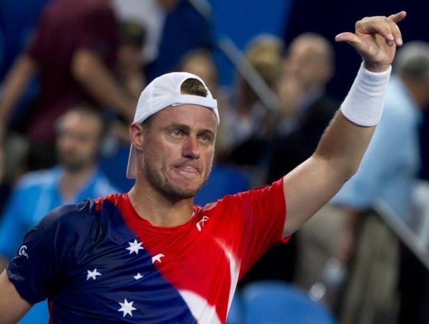Lleyton Hewitt laat Australiërs juichen in Hopman Cup