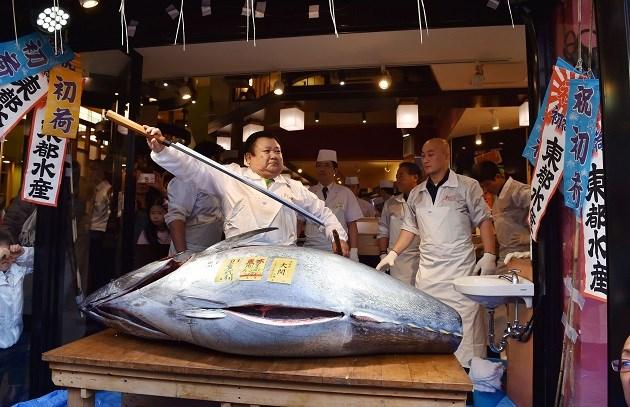 Japanner telt meer dan 100.000 euro neer voor tonijn