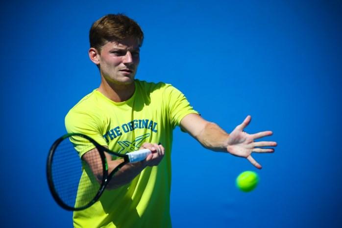 David Goffin en Yanina Wickmayer maandag in actie op Australian Open