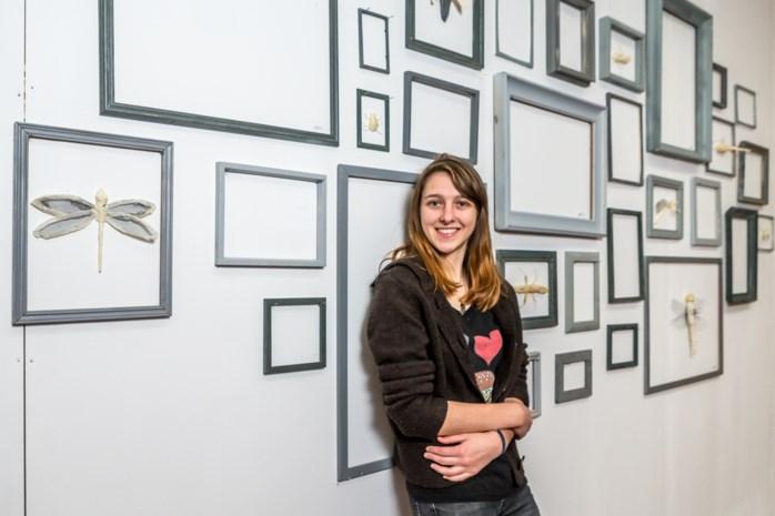 Winnares Kunstbende Sarah Goossens (19) krijgt solo-expo