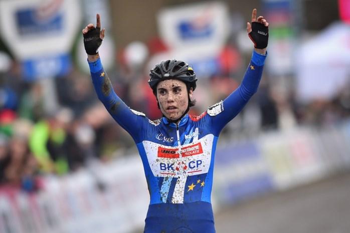Sanne Cant kan zondag tiende Belgische titel grijpen