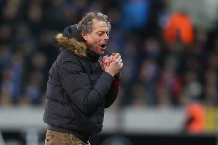 """Michel Preud'homme: """"Met gelijke wapens winnen we blijkbaar wel tegen Gent"""""""