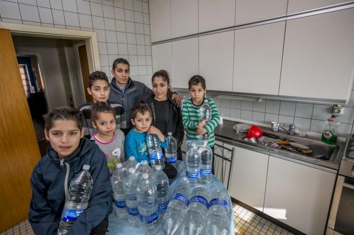 Gezin met zes kinderen zit al week zonder water