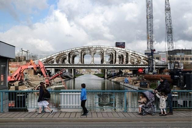 Colomabrug dicht voor onderhoud