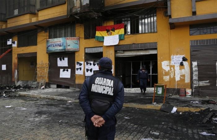 Zes doden bij betoging in Bolivia