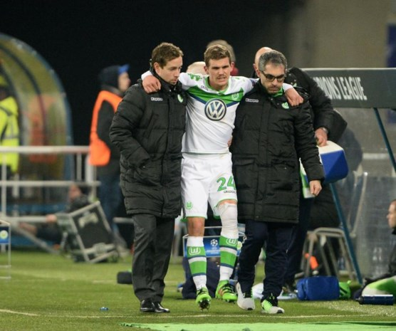 Wolfsburg-verdediger Jung scheurde kruisband tegen Gent