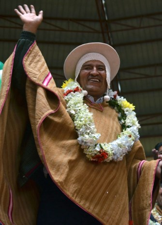 Geen vierde termijn voor Evo Morales