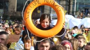 3.000-tal mensen betogen in Brussel voor solidariteit met vluchtelingen