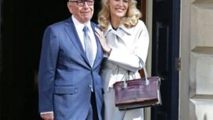 IN BEELD. Rupert Murdoch stapt in het huwelijksbootje