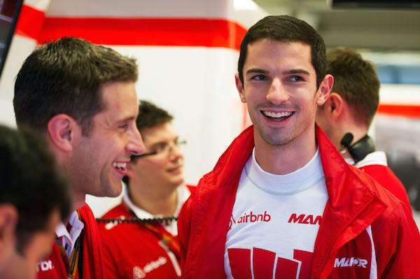 Manor F1 team benoemt Rossi tot reserverijder