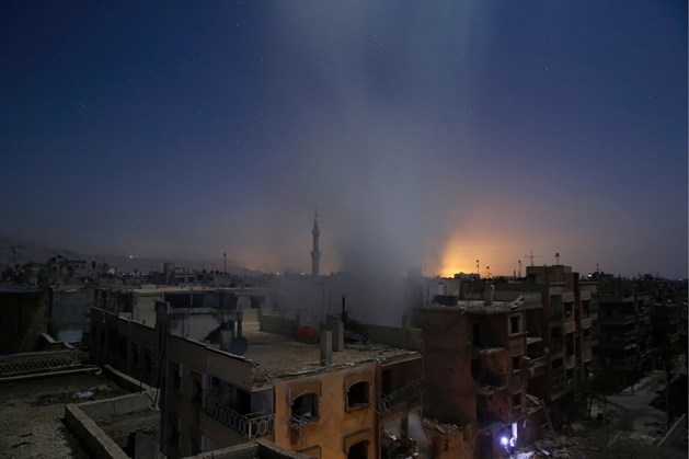 """""""Verenigde Staten voeren luchtaanvallen uit tegen chemische wapens van Islamitische Staat"""""""