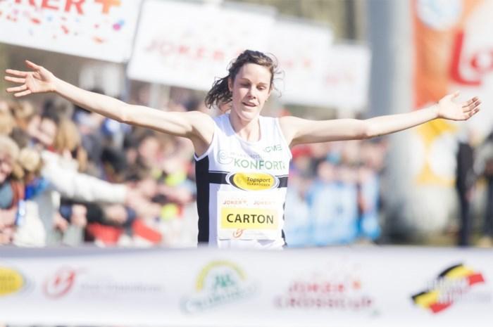 Carton volgt zichzelf op als Belgisch kampioene veldlopen, D'hoedt wint bij mannen