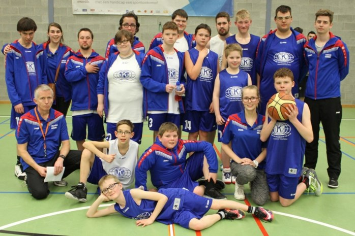 Basketbaltornooi voor jonge G-sporters