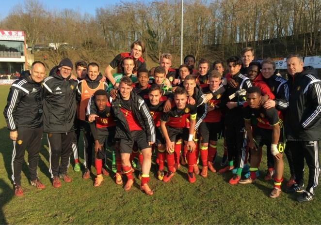 Belgische U17 boekt eerste zege in kwalificatieronde EK 2016 dankzij zoon Verlinden