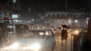 Vijftigtal doden na hevige regenval in Pakistan