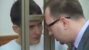 Oekraïense pilote schuldig verklaard in Rusland