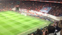 Applaus voor Johan Cruijff in de 14de minuut, maar wel net na tegengoal...