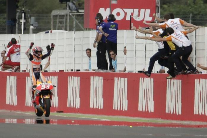 Spanjaard Marquez rijdt overtuigend naar zege in Argentinië