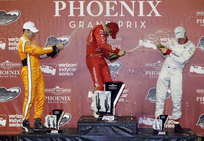 Scott Dixon rijdt naar zege in GP IndyCar van Phoenix