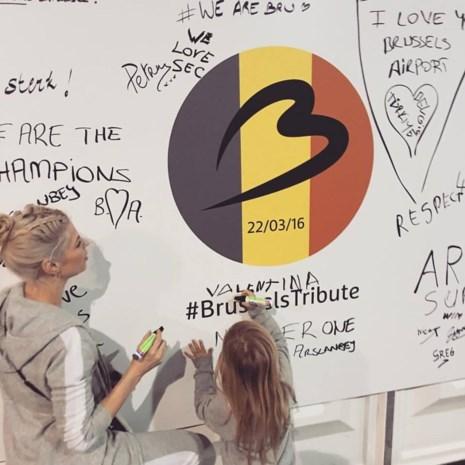 Dochtertje Tanja Dexters herdenkt aanslagen Brussel
