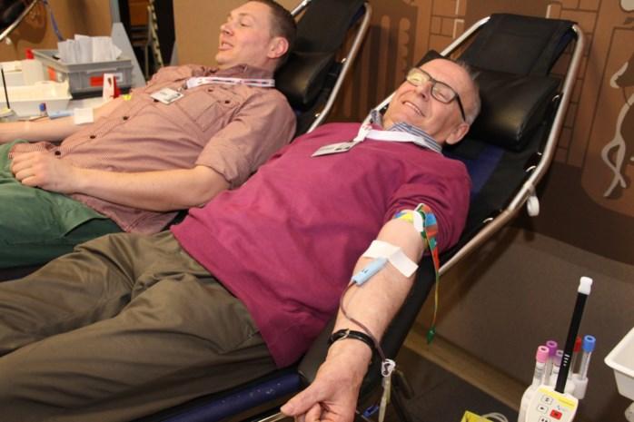 Denis gaf reeds 176 maal bloed