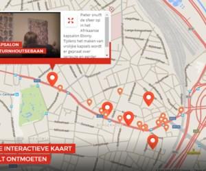 Turnhoutsebaan: alle ontmoetingen van Pieter Embrechts op kaart