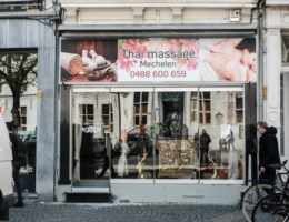 Eerste schepen verontrust over Thais massagesalon