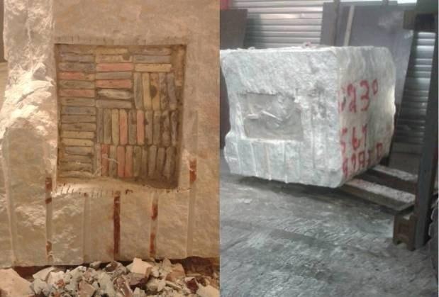 Opnieuw marmeren blokken met ton cocaïne in getransporteerd via Antwerpse haven