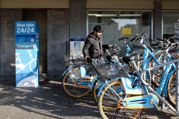 Prijs voor ontlenen Blue-bikes daalt tot één euro