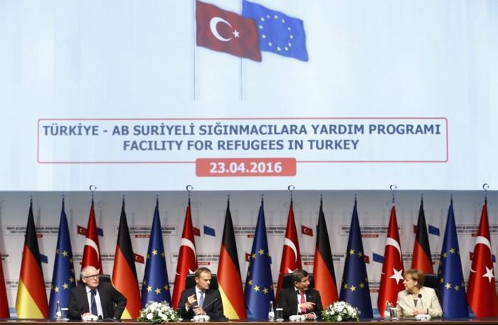 """""""EU geeft Turkije woensdag groen licht voor visumvrij reizen naar Europa"""""""