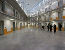Cipiers leggen het werk neer in gevangenis Beveren