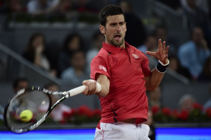 Novak Djokovic is laatste halvefinalist in ATP Madrid