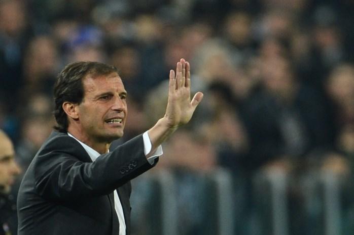 Juventus verlengt contract van coach Allegri tot 2018