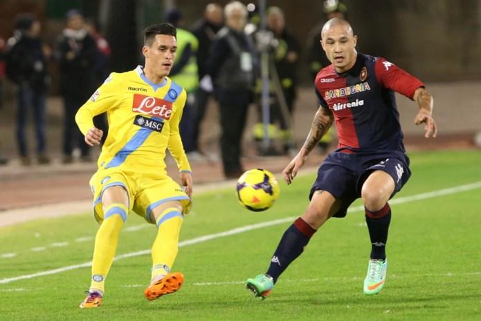 Cagliari na een seizoen terug in Serie A
