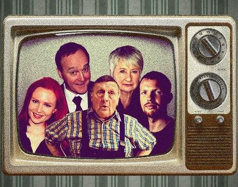 Bekende cast grasduint in televisiegeschiedenis