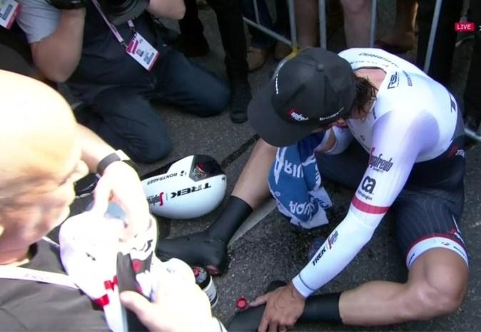 """REACTIES. Fabian Cancellara: """"Ik had de hele tijdrit een raar gevoel"""""""