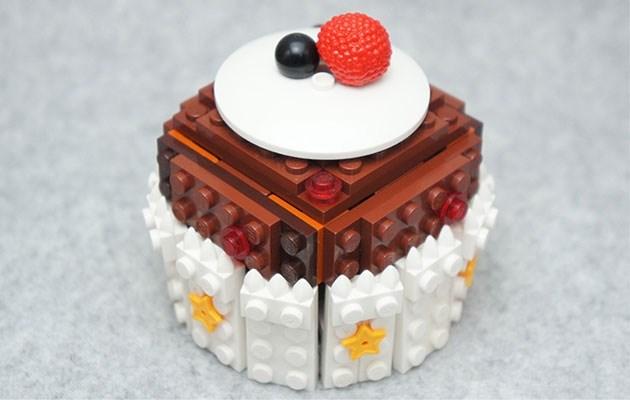 Heerlijk om naar te kijken: snacks uit Lego