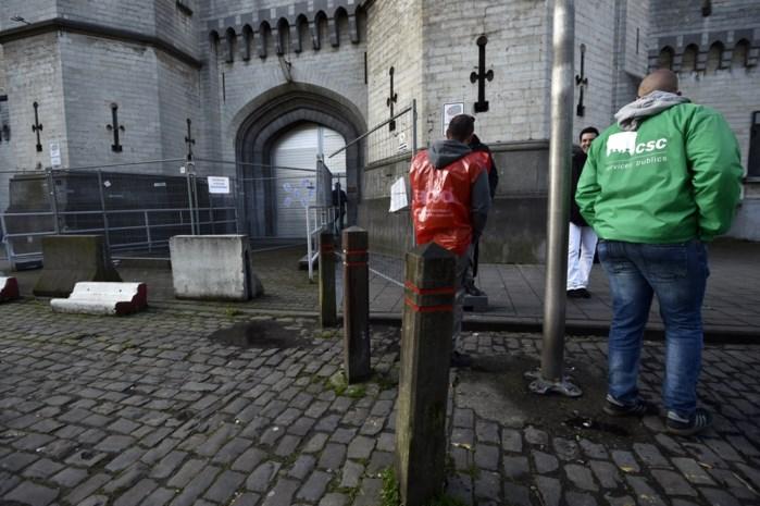 Brusselse en Waalse cipiers blijven staken