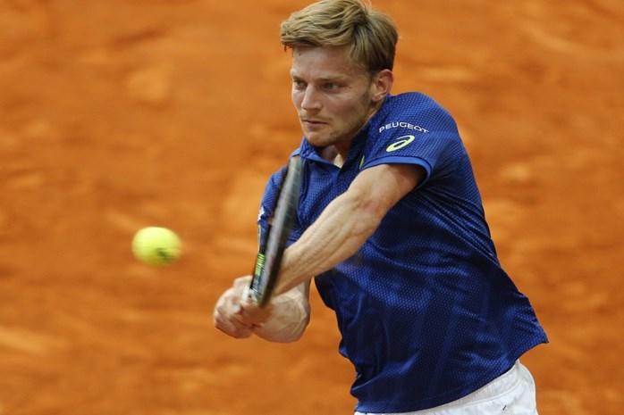 David Goffin kent eerste tegenstander in ATP-toernooi van Rome