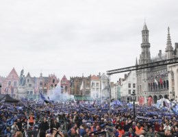 35.000 fans vieren titel Club Brugge