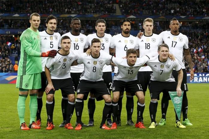 Wereldkampioen Duitsland start EK-voorbereiding met 27 spelers