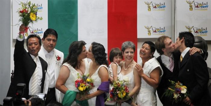 Mexicaanse president wil homohuwelijk in heel het land