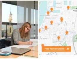 KAART. Op deze plekken in Antwerpen kunnen studenten samen blokken