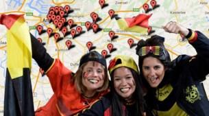 OVERZICHT: Hier kan u België op groot scherm aanmoedigen