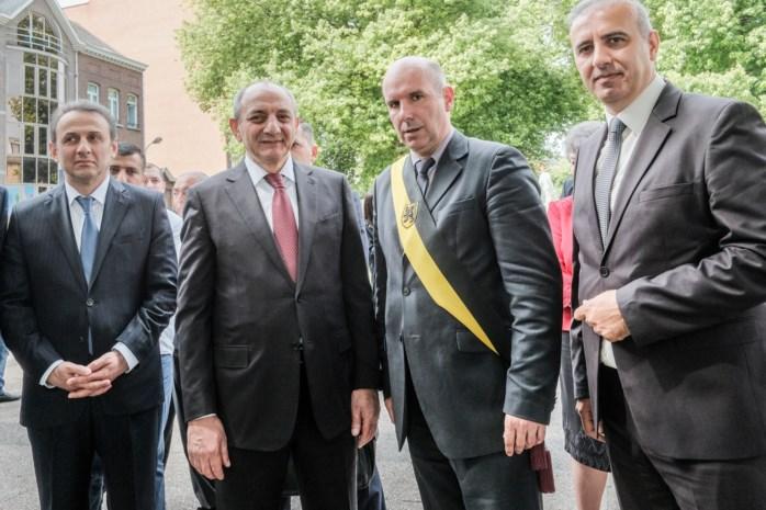 President van niet-erkende republiek op bezoek in Mechelen